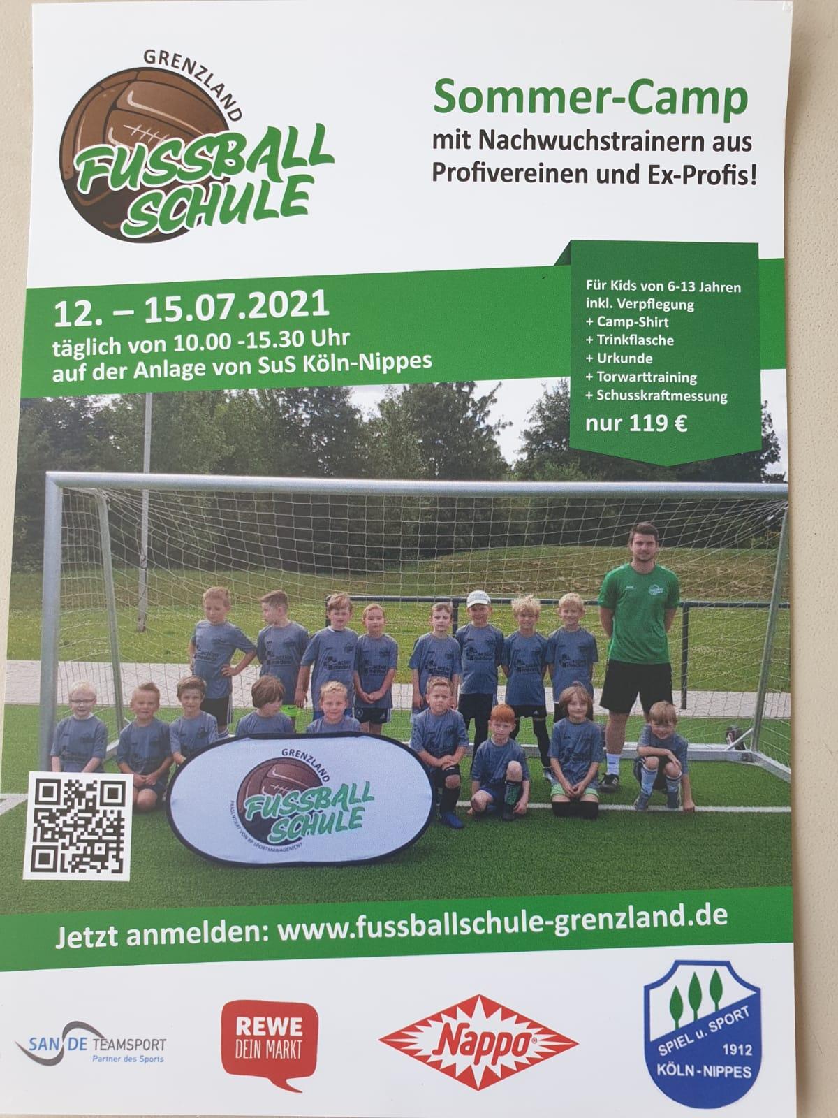 Fussballschule Sommer-Camp